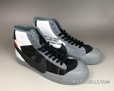 Nike Men Off White Nike Blazer Studio Mid Aa3832 001 Size 7.5