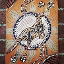 Image result for aboriginal kangaroo paintings