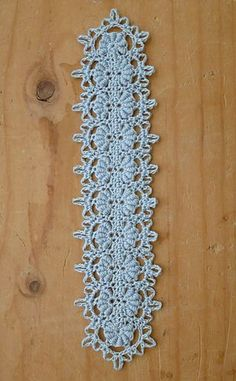 Elegant Bullion Bookmark... Free crochet pattern!!