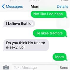 This mom who knows what kind of questions to ask.   29 Of The Most Mom Texts That Have Ever Happened