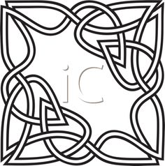 Celtic Design Clipart Image