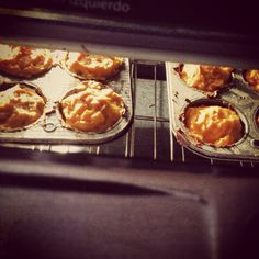 Ya en el horno #panqué #zanahoria #forkyou
