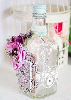 Всем доброе утро!!!!   Хочу показать работы для  Imaginarium Design.  Давно смотрю на красивые декорированные баночки, бутылочки и другие ...