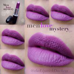 NEXT ON MY LIST .. Mac Men Love Mystery Lips. So moooooi!