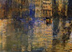 George Luks (American; Ashcan School, The Eight, 1867–1933): New York; 1922. - Google Search