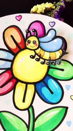Diy Crafts Hacks, Diy Crafts For Gifts, Diy Arts And Crafts, Diy Crafts Videos, Felt Crafts, Paper Crafts For Kids, Easy Crafts For Kids, Preschool Crafts, Art For Kids