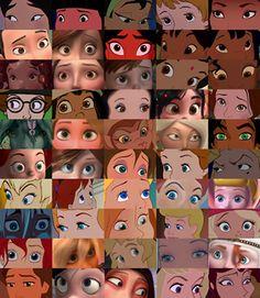 Tantos olhos lindos