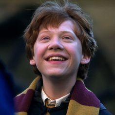 """""""Chris Columbus had asked me to come out to the studio to meet the young cast, and I came out to read with them. When I finished the reading, the little boy playing Ron Weasley turned to me and said, 'Mr. Harris, that was quite a good reading. I think you'll be quite good in this part!'"""" - Richard Harris #HarryPotter"""