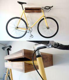Bike Shelf, designed by Chris Bigham