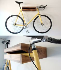Bike Shelf, designed by Chris Bigham