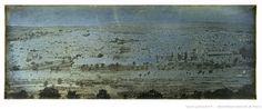 Joseph-Philibert Girault de Prangey Jerusalem | Jérusalem : vue panoramique prise du Mont des Oliviers ...