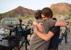 "Director Richard Linklater. (Filming ""Boyhood"")"