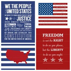 Celebrate America Prints by simplyfreshdesigns on Etsy