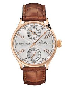 Sinn Uhren: Modell 6100 Rose Gold