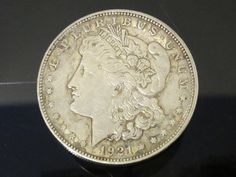 1921D Morgan Silver Dollar Collectible Coin by wandajewelry2013, $45.00