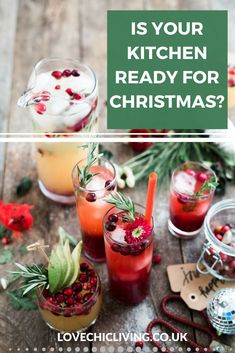Prepare your kitchen for christmas with these 10 handy ideas. Is your kitchen up to the job? Are you prepared for what your kitchen has to do this Christmas? Check out the list and make sure your kitchen is perfect for the festive season #christmashome #c