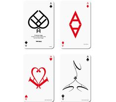 typographic playing cards http://www.youtube.com/watch?v=Vo2bMtmqOkM