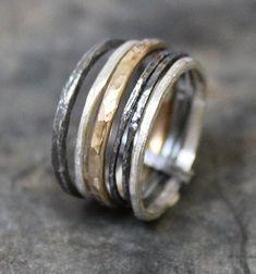 gehamerde ringen