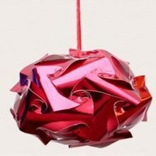 Christmas Hanging Ball Decoration Bright Color