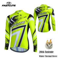 US $17.56 Fastcute Warm 2017 Pro Winter Thermal Fleece Cycling Jersey Ropa Ciclismo Mtb Long Sleeve Men Bike Wear Clothing Maillot #XL-10. Aliexpress product
