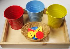 colour sorting with buckets