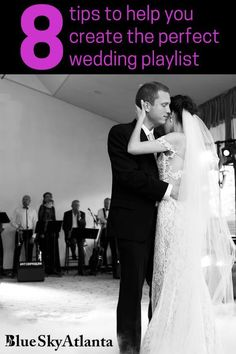 What songs should be on your wedding music playlist? Why? Here are some tips to help you create the perfect playlist for your wedding.