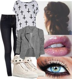 """""""Untitled #201"""" by mickeym0use ❤ liked on Polyvore"""