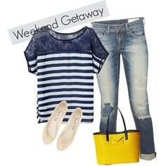Weekwnd getaway by picalga on Polyvore featuring rag & bone and MARC BY MARC JACOBS