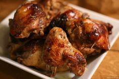 Get Balsamic Chicken Drumettes Recipe from Food Network Roast Chicken Thigh Recipes, Roasted Chicken Thighs, Chicken Recipes, Chicken Breasts, Chicken Drumettes Recipe, Paleo Recipes, Cooking Recipes, Duck Recipes, Healthy Cooking