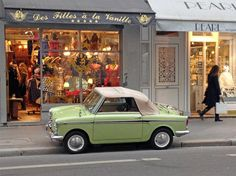 Autobianchi Bianchina Eden Roc.... That looks like it could e sold at a toy store