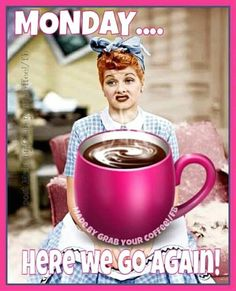 Let's do this! Happy Monday ☕ Monday Humor, Monday Quotes, Monday Morning Humor, Funny Monday, Motivational Monday, Inspirational Quotes, Good Morning Coffee, Good Morning Good Night, Coffee Time