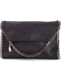 Shop Stella McCartney 'Falabella' clutch in Tessabit from the world's best independent boutiques at farfetch.com. Over 1000 designers from 300 boutiques in one website.