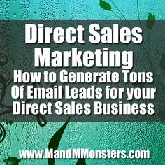Get Free Targeted Lead - Direct Sales Marketing - How to Generate Tons Of Email Leads for your Direct Sal... ** Find out even more at the photo link
