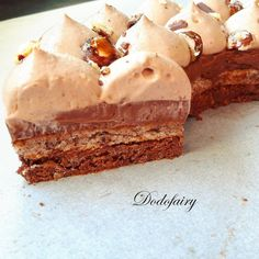 Cheesecake Mousse Recipe, Chocolate Mousse Cheesecake, Cheesecake Recipes, Paris Brest, Thermomix Desserts, Number Cakes, Cake & Co, Cooking Time, Yummy Food
