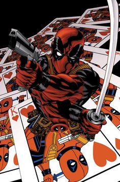 #Deadpool #Fan #Art. (Deadpool: Suicide Kings #1) By: Mike McKone. (THE * 5 * STÅR * ÅWARD * OF: * AW YEAH, IT'S MAJOR ÅWESOMENESS!!!™) [THANK U 4 PINNING!!!<·><]<©>ÅÅÅ+(OB4E)