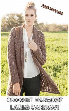 7d8936d74d 3 Beautiful Crochet Cozy Sweaters Ideas Free Patterns