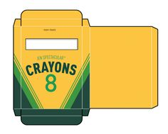 Crayon Box Template