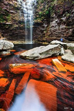 Cachoeira da Roncadeira - Chapada Diamantina, Bahia - Brasil