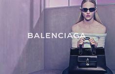 Balenciaga SPRING SUMMER 2015 Campaign   Image #9   Photographer: Steven Klein   Model: Sasha Pivovarova   www.balenciaga.com