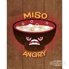 Miso Angry 8x10 from Steamcrow