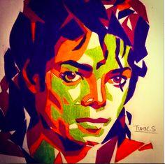 """WPAP Art of Michael Jackson"""