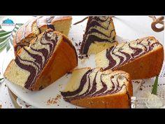 🔊BU KEKİ SUYLA YAPTIM‼KABARDIKÇA KABARDI🔥 MUHTEŞEM ZEBRA KEK TARİFİ🔝BAYATLAMIYOR✔ - YouTube Food Cakes, Tiramisu, Tart, Cake Recipes, Muffin, Breakfast, Ethnic Recipes, Youtube, Olinda