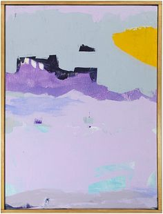 """""""Gulls At The Beach 1"""" by Jenny Prinn, $850, 12"""" x 16,"""" available at Serena & Lily. #serenaandlily"""