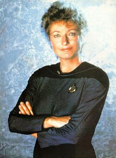 Katherine Pulaski - Star Trek : The Next Generation. Star Trek Characters, Female Characters, Diana Muldaur, Star Trek Generations, Captain Janeway, Star Trek Cast, New Zombie, Sci Fi Series, Tv Series