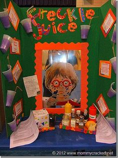 Have a Reading Fair, like a Science Fair, but based on books!