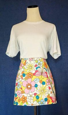 Hey, I found this really awesome Etsy listing at https://www.etsy.com/listing/520226980/vintage-1960s-floral-butterfly-mini