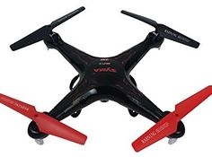 Syma Quadcopter Drone with HD Camera X5C ...Visit our site for the latest news on drones with cameras