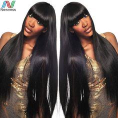 Newness Mink Brazilian Virgin Hair Straight 3 Bundles Deal Virgin Brazilian Hair Human Hair Weave
