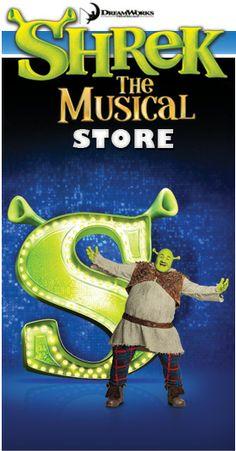 Home - Shrek The Musical Store