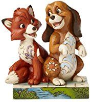 Jim Shore Disney Traditions by Enesco Fox and The Hound Figurine